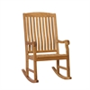Teak Porch Rocker - Unstained
