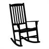 Southern Enterprises Hardwood Porch Rocker - Black