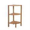 Teak Three Tier Corner Tower