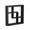 "Southern Enterprises Madison Display Shelf 16"" - Black"