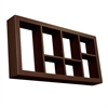 "Southern Enterprises Taylor Display Shelf 24"" - Chocolate"