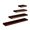 "Southern Enterprises Chicago Floating Shelf 24"" - Chocolate"