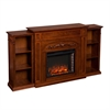 Chantilly Bookcase Electric Fireplace