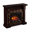 Southern Enterprises Carrington Convertible Electric Fireplace - Classic Espress