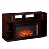 Southern Enterprises Bexley Media Fireplace - Espresso