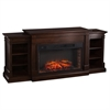 Reese Widescreen Electric Fireplace w/ Bookcases