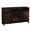 Rutherford Electric Fireplace Media Stand