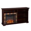 Southern Enterprises Gatlinburg Bookshelf Electric Fireplace - Espresso