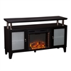Cabrini Media Fireplace - Black