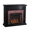 Kyledale Faux Brick Electric Media Fireplace