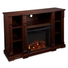 Southern Enterprises Kendall Electric Media Fireplace - Espresso