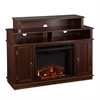 Lynden Media Fireplace - Espresso