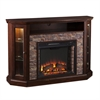 Redden Corner Convertible Electric Media Fireplace