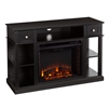 Southern Enterprises Dayton Media Fireplace - Black