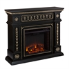 Southern Enterprises Donovan Electric Fireplace - Black