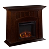 Lowery Electric Fireplace - Espresso