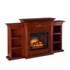 Tennyson Infrared Fireplace w/ Bookcases
