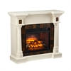 Carrington Faux Slate Convertible Infrared Fireplace