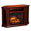 Claremont Corner Media Infrared Fireplace