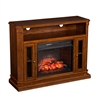 Atkinson Infrared Electric Fireplace Media Stand