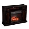 Southern Enterprises Marianna Infrared Electric Media Fireplace - Ebony w/ Antiqu