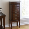 Southern Enterprises Jewelry Armoire - Mahogany