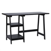 Southern Enterprises Langston Desk - Black