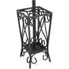 Scrolled Coat Rack and Umbrella Stand
