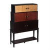 Southern Enterprises Wyman Tiered Storage Cabinet