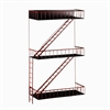 Southern Enterprises Holly & Martin Hazyrd Wall Shelf
