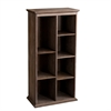 "Southern Enterprises Midvale 60"" Shelf - Burnt Oak"