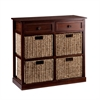 Southern Enterprises Kenton 4-Basket Storage Chest