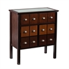 Southern Enterprises Hendrik Display Top Apothecary Cabinet