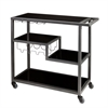 Southern Enterprises Holly & Martin Zephs Bar Cart