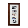 Southern Enterprises Photo Display Wall Mount Jewelry Armoire - Cherry