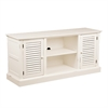 Southern Enterprises Antebellum Media Stand - Antique White
