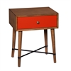 Southern Enterprises Norwich Accent Table - Red