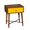 Southern Enterprises Norwich Accent Table - Yellow