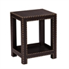 Southern Enterprises Reptilian Nailhead Accent Table - Brown