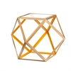 Southern Enterprises Jenna Accent Table - Yellow & Champagne