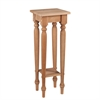 Harwich Unfinished Wood Accent Table