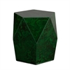 Southern Enterprises Roxbury Faux Stone Accent Table - Green Malachite