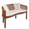 Southern Enterprises Korba Outdoor Bench