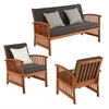Southern Enterprises Catania Outdoor Deep Seating - 3pc Set