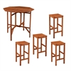Southern Enterprises Trinidad Outdoor 5pc Gathering Set