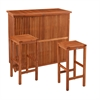 Southern Enterprises Trinidad Outdoor Bar - 3pc Set