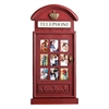 Southern Enterprises Edmond Phone Booth Wall Mount Photo Frame