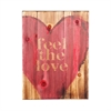 Holly & Martin Swoon Wall Panel  Feel The Love