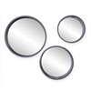 Southern Enterprises Holly & Martin Daws Wall Mirror 3pc Set - Cool Gray