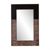 Southern Enterprises Holly & Martin Wagars Mirror - Burnt Oak/Black